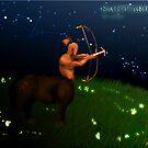 Sagittarius - the archer by Stephanie Cousins