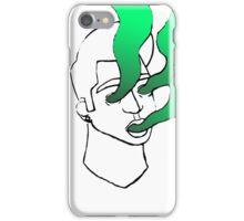 Expressionism--Green iPhone Case/Skin