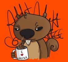 coffee addict Kids Clothes