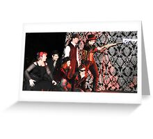 the tableaux of mirrors Greeting Card