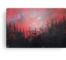 Rusty Night Canvas Print