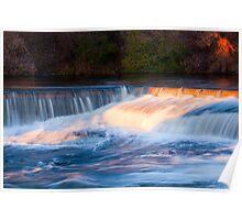 Almonte - waterfalls (1) Poster