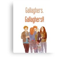 gallaghers. gallaghers!! Canvas Print
