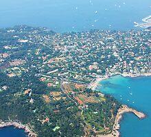 Antibes, Southern France - Areal view by Atanas Bozhikov NASKO