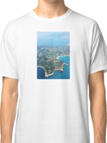 Antibes, Southern France - Areal view Classic T-Shirt