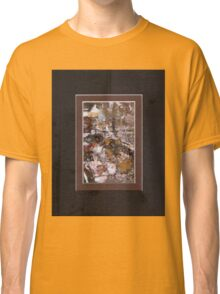 ABSTRACT SNOW SCENE Classic T-Shirt