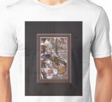 ABSTRACT SNOW SCENE Unisex T-Shirt