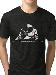 self harming hoodie Tri-blend T-Shirt