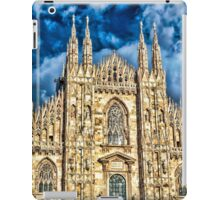 Facade of Cathedral Duomo in Milan iPad Case/Skin