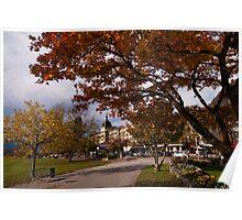 Autumn in Interlaken Poster