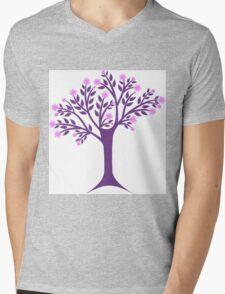 Blossoms tree Mens V-Neck T-Shirt