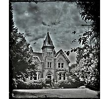 Haunted? Photographic Print