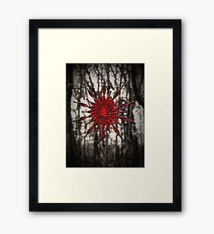 Dark Christmas Framed Print