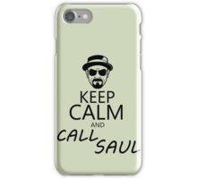 Keep Calm And Call Saul iPhone Case/Skin