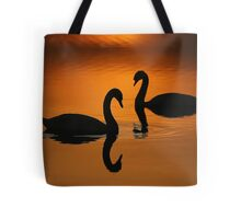 Together in Solitude Tote Bag