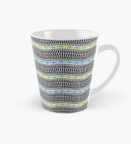 FLUORESCENT WAVES Tall Mug
