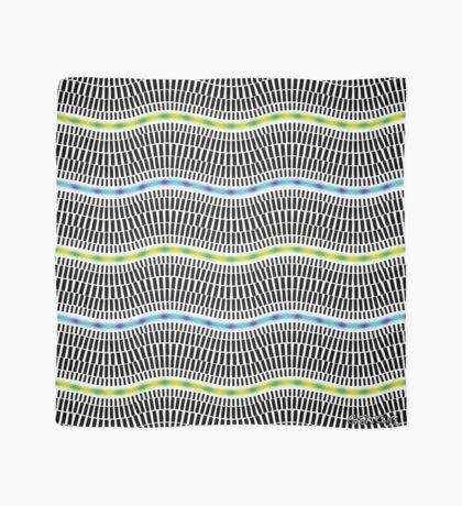 FLUORESCENT WAVES Scarf