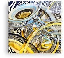 Escher Under the Lens Canvas Print