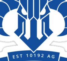 Harkonnen University [Blue] Sticker
