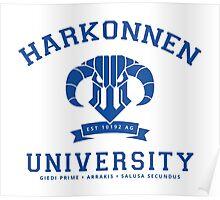 Harkonnen University [Blue] Poster