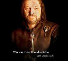 Lord Eddard Stark by Daniele  Marcello