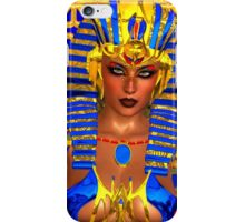 Cleopatra, Nefertiti or any Egyptian Woman Pharaoh. Modern digital art fantasy. iPhone Case/Skin