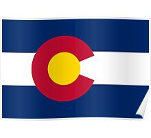 State Flags of the United States of America -  Colorado Poster