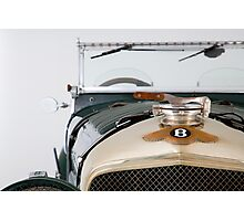 Vintage Bentley Photographic Print