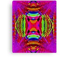 Violet Stream of Consciousness Canvas Print