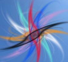 Abstract colorful background by Ingvar Bjork Photography