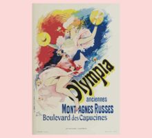 Les Affiches Illustrees 1886 1895 Ouvrage Orne de 64 Ernest Maindron Jules Cheret 1896 0255 Olympia One Piece - Long Sleeve