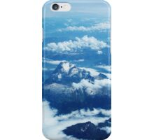 View on Mont Blanc iPhone Case/Skin