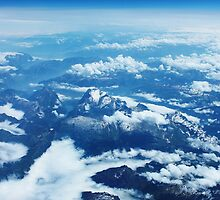 View on Mont Blanc by Atanas Bozhikov Nasko