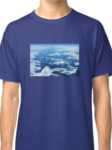 View on Mont Blanc Classic T-Shirt