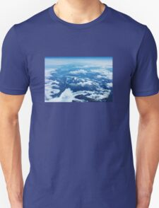 View on Mont Blanc T-Shirt