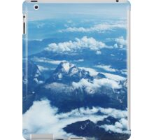 View on Mont Blanc iPad Case/Skin