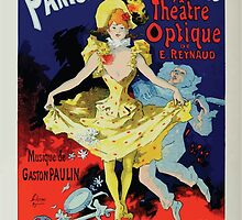 Les Affiches Illustrees 1886 1895 Ouvrage Orne de 64 Ernest Maindron Jules Cheret 1896 0486 Pantomimes Lumineuses by wetdryvac