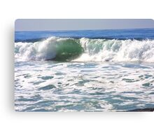 The Translucent Wave... Homage to Eugene Garin  Canvas Print