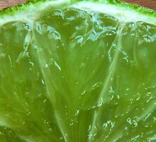 Lime Green, Fresh and Juicy by BluedarkArt
