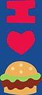 I ♥ Krabby Patties by Adam Grey