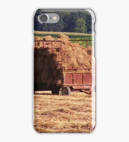 Hay Wagon iPhone Case/Skin