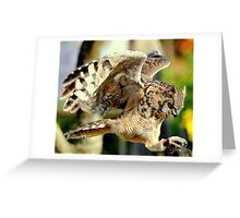 Trained, but not tamed Greeting Card