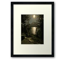 Grand Tenton National park Canada Framed Print