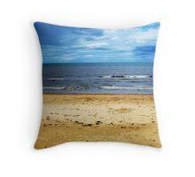Beach Sea Landscape Throw Pillow