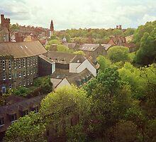 Dean Village, Edinburgh by Ray Vaughan