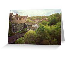 Dean Village, Edinburgh Greeting Card