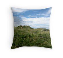 Grass & Hills Landscape Throw Pillow