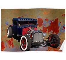 1931 Ford Rat Rod Pickup Poster