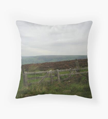 On Nought Moor Throw Pillow