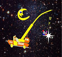 When You Wish Sat On a Star - pillow & tote design, etc by Dennis Melling